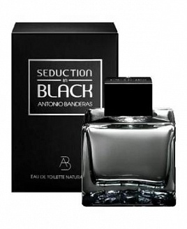 Antonio Banderas Seduction in Black for Men